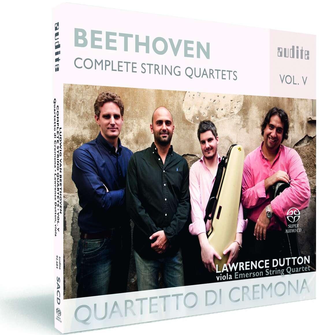 Ludwig van Beethoven: Complete String Quartets - Vol. 5