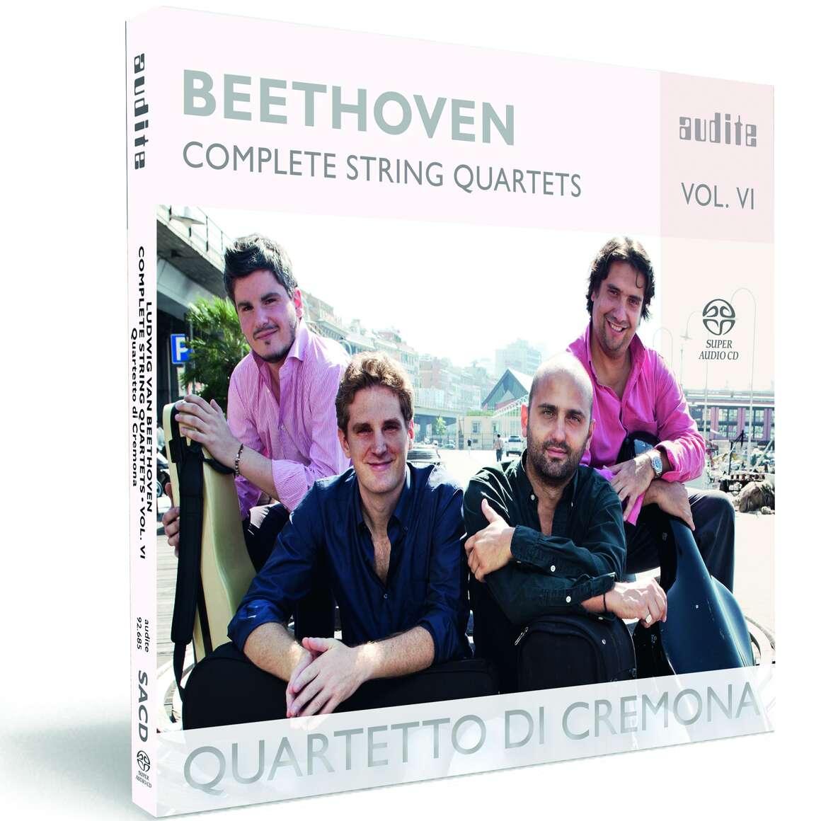 Ludwig van Beethoven: Complete String Quartets - Vol. 6