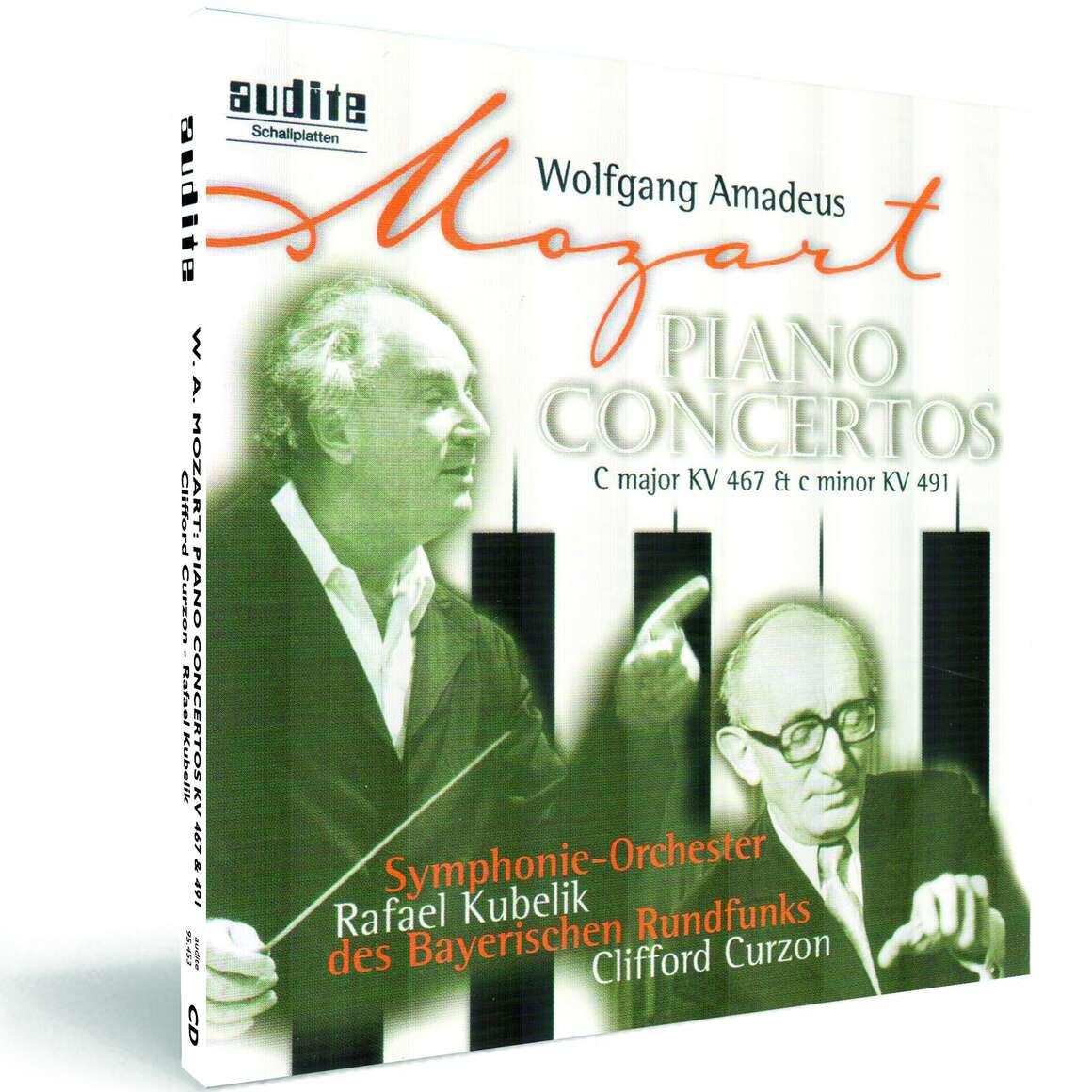 W. A. Mozart: Piano Concertos No. 21 & No. 24