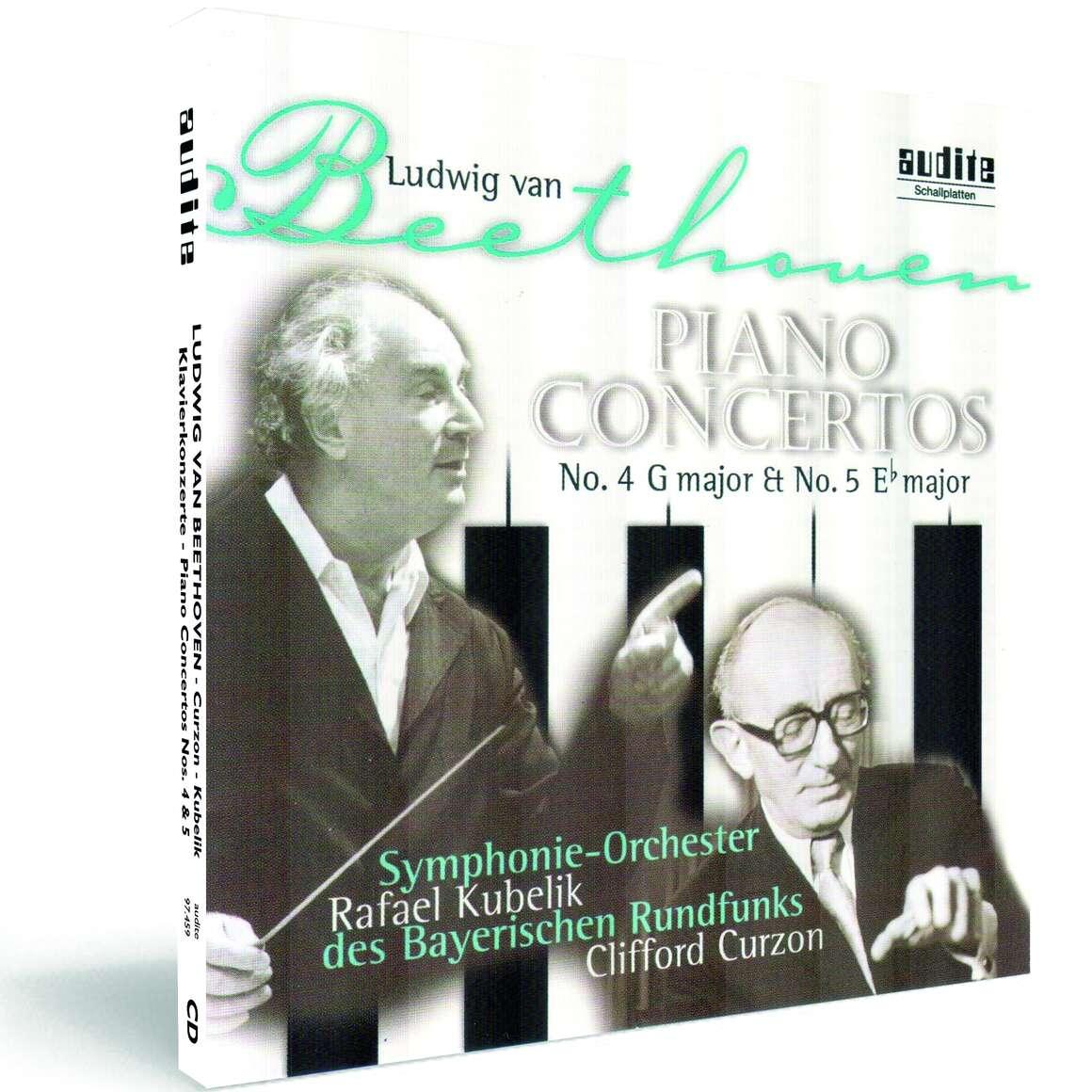 L. v. Beethoven: Piano Concertos No. 4 & No. 5
