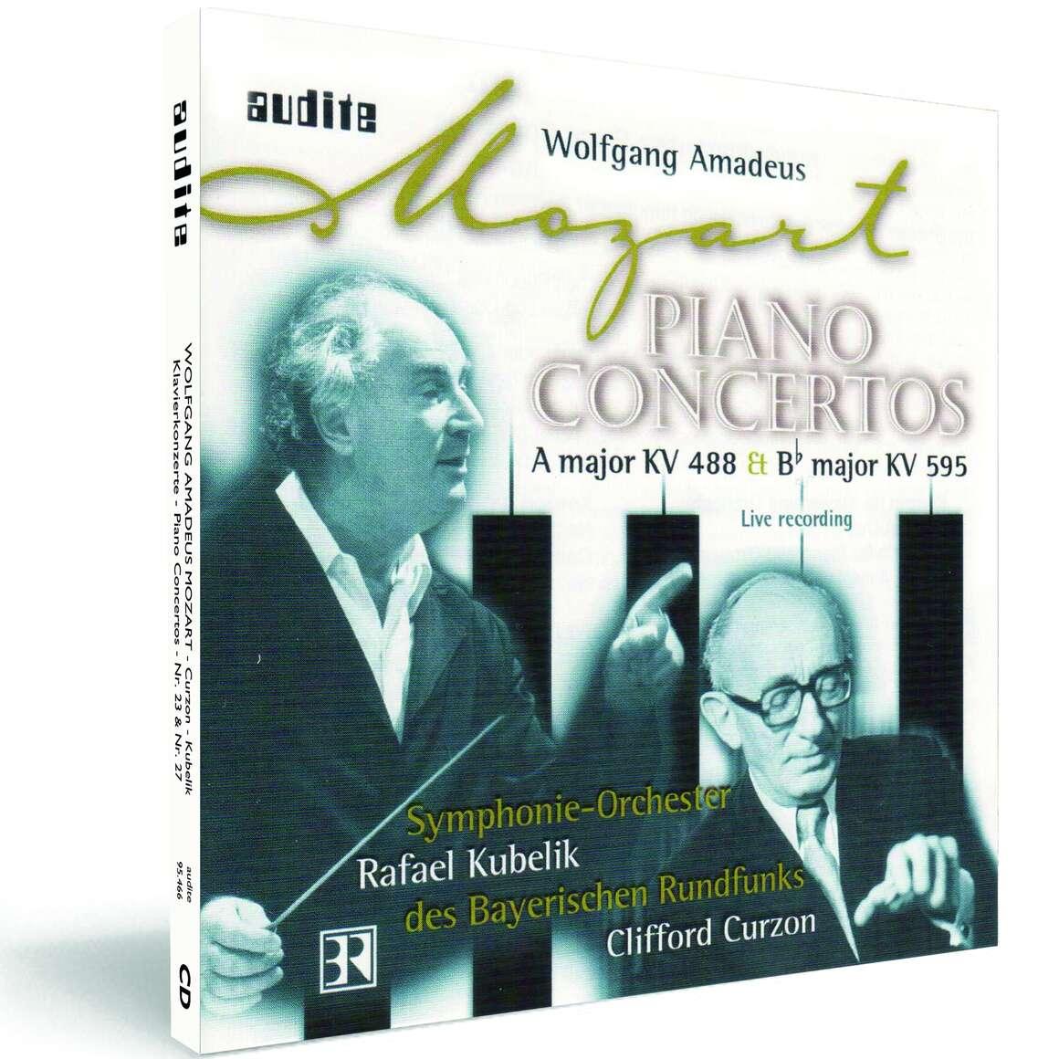W. A. Mozart: Piano Concertos No. 23 & No. 27