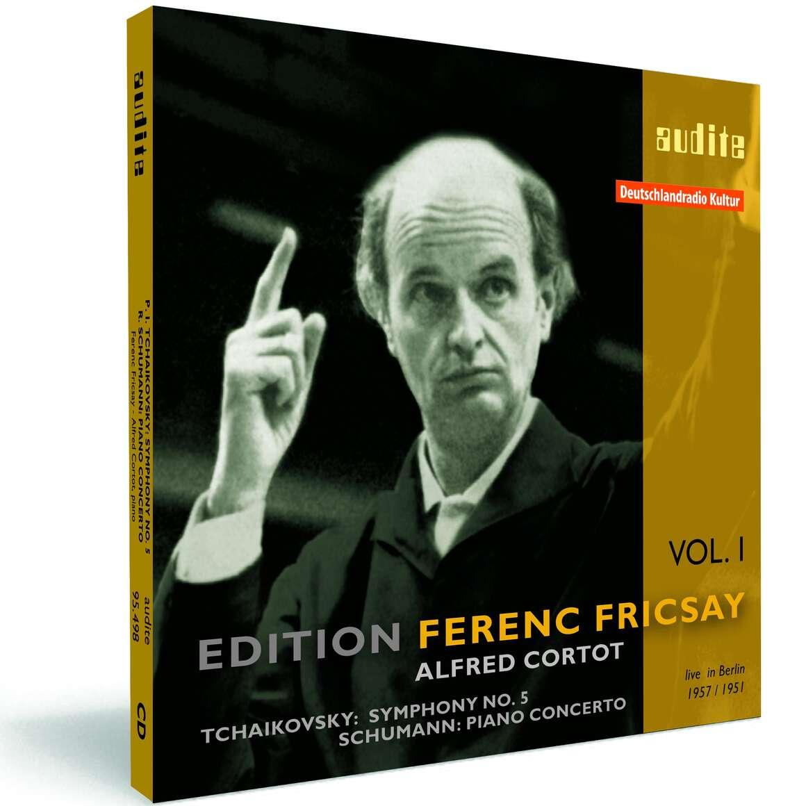 P. I. Tchaikovsky:  Symphony No. 5 & R. Schumann: Piano Concerto