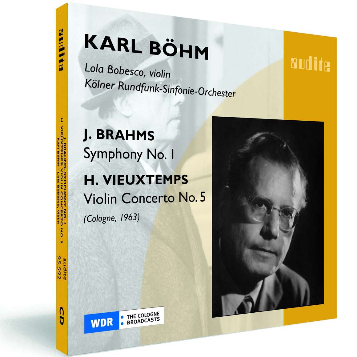 J. Brahms: Symphony No. 1 & H. Vieuxtemps: Violin Concerto No. 5
