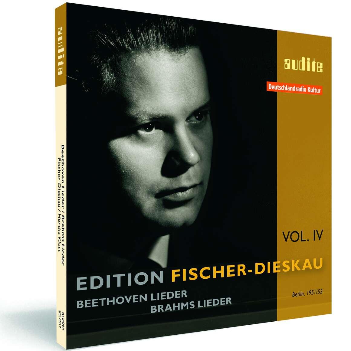 Edition Fischer-Dieskau (IV) – Lieder by Beethoven and Brahms