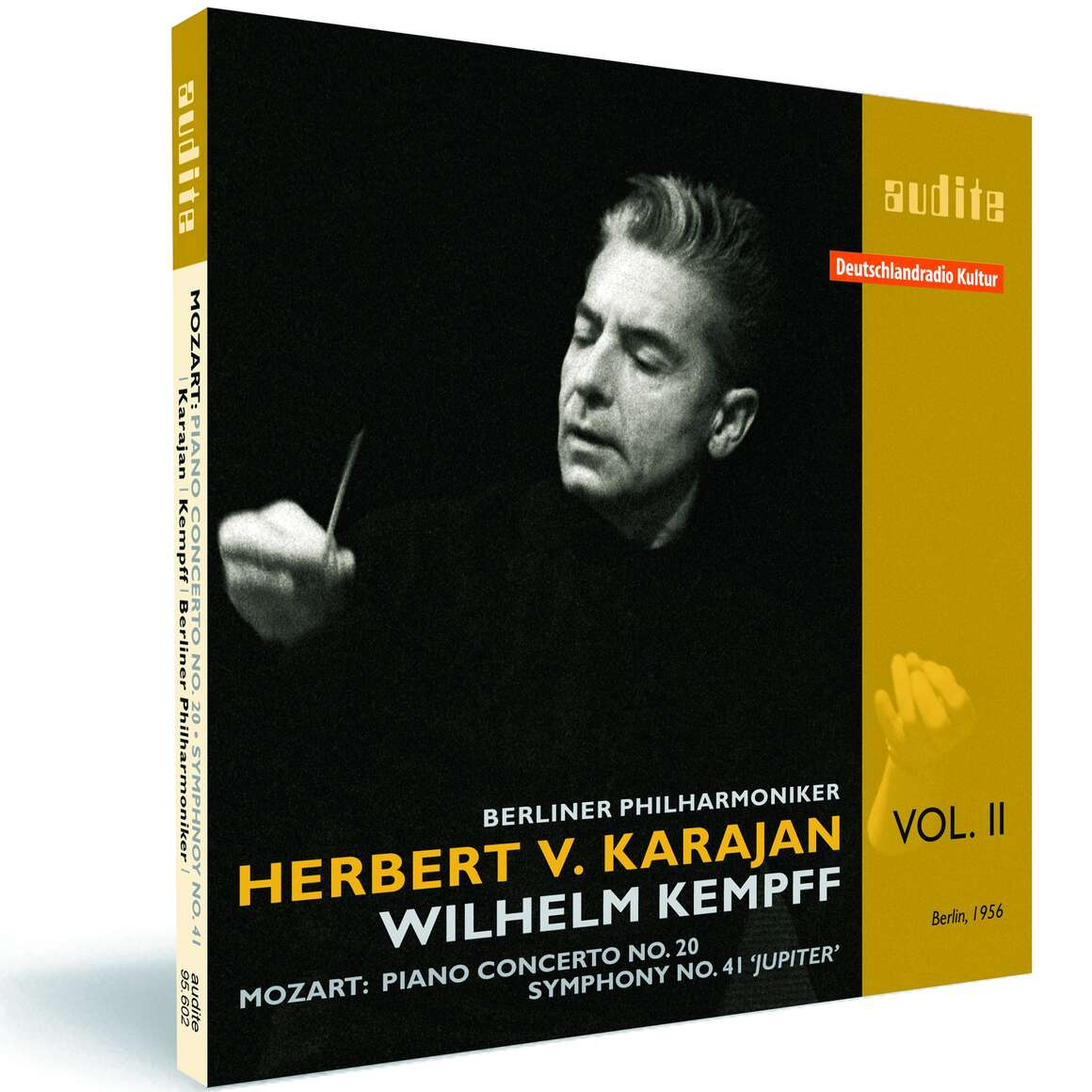 Edition von Karajan (II) – W. A. Mozart: Piano Concerto No. 20 & Symphony No. 41 'Jupiter Symphony'