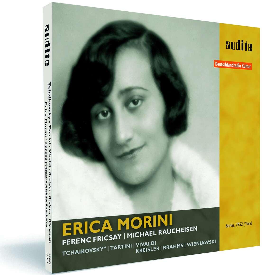 Erica Morini plays Tchaikovsky, Tartini, Vivaldi, Kreisler, Brahms and Wieniawski