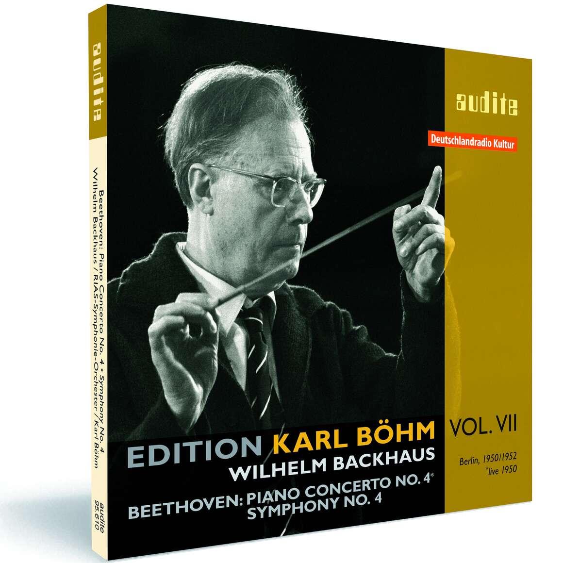 L. v. Beethoven: Piano Concerto No. 4 & Symphony No. 4