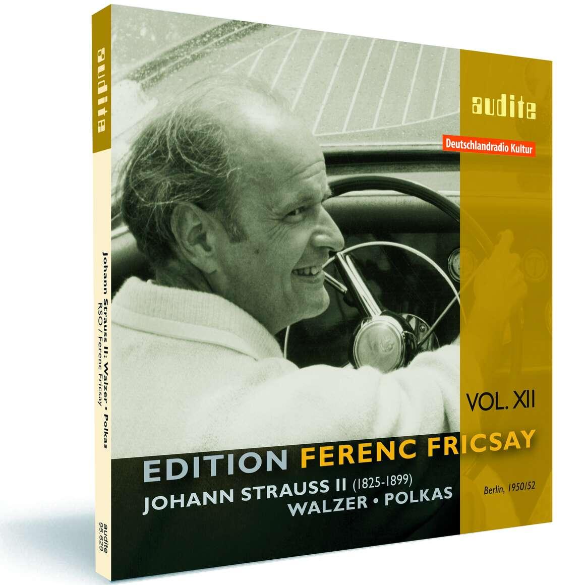 Edition Ferenc Fricsay (XII) – J. Strauss: Walzer • Polkas