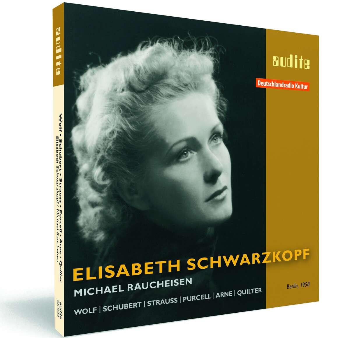 Elisabeth Schwarzkopf interprets songs by Wolf, Schubert, Strauss, Purcell, Arne & Quilter