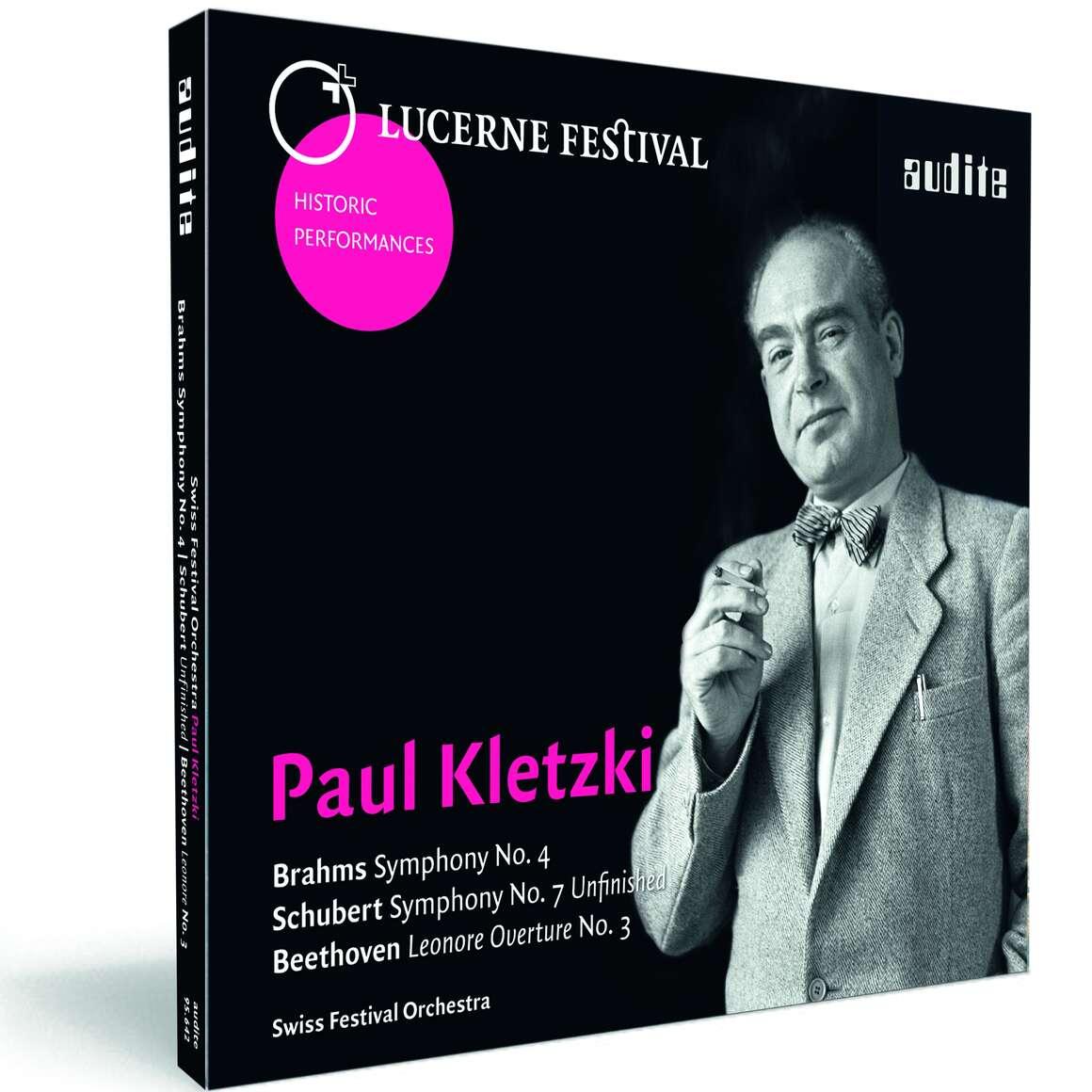 Paul Kletzki conducts Brahms, Schubert & Beethoven