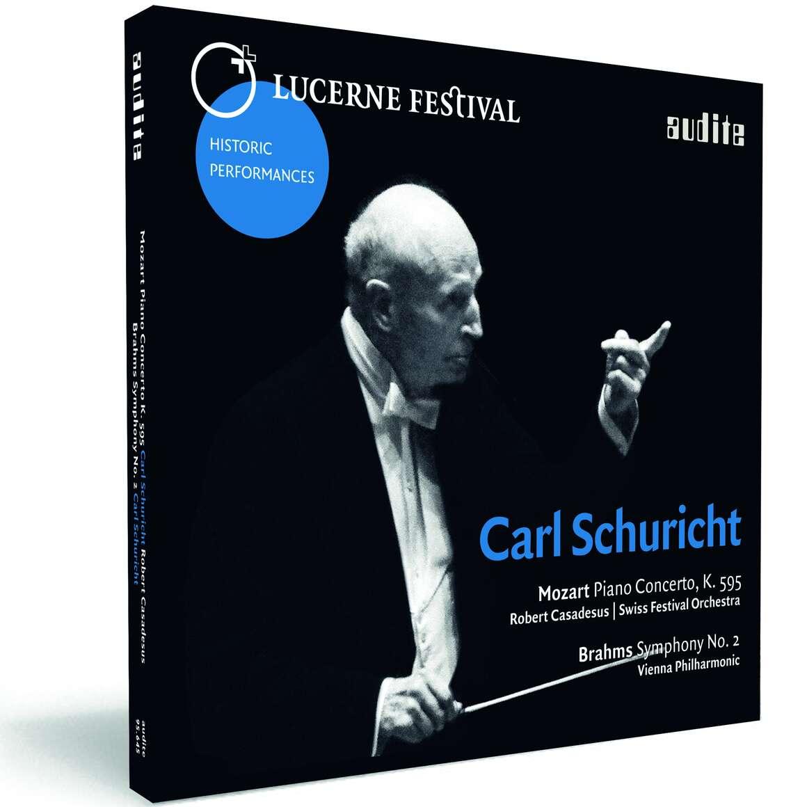 Carl Schuricht conducts Mozart & Brahms