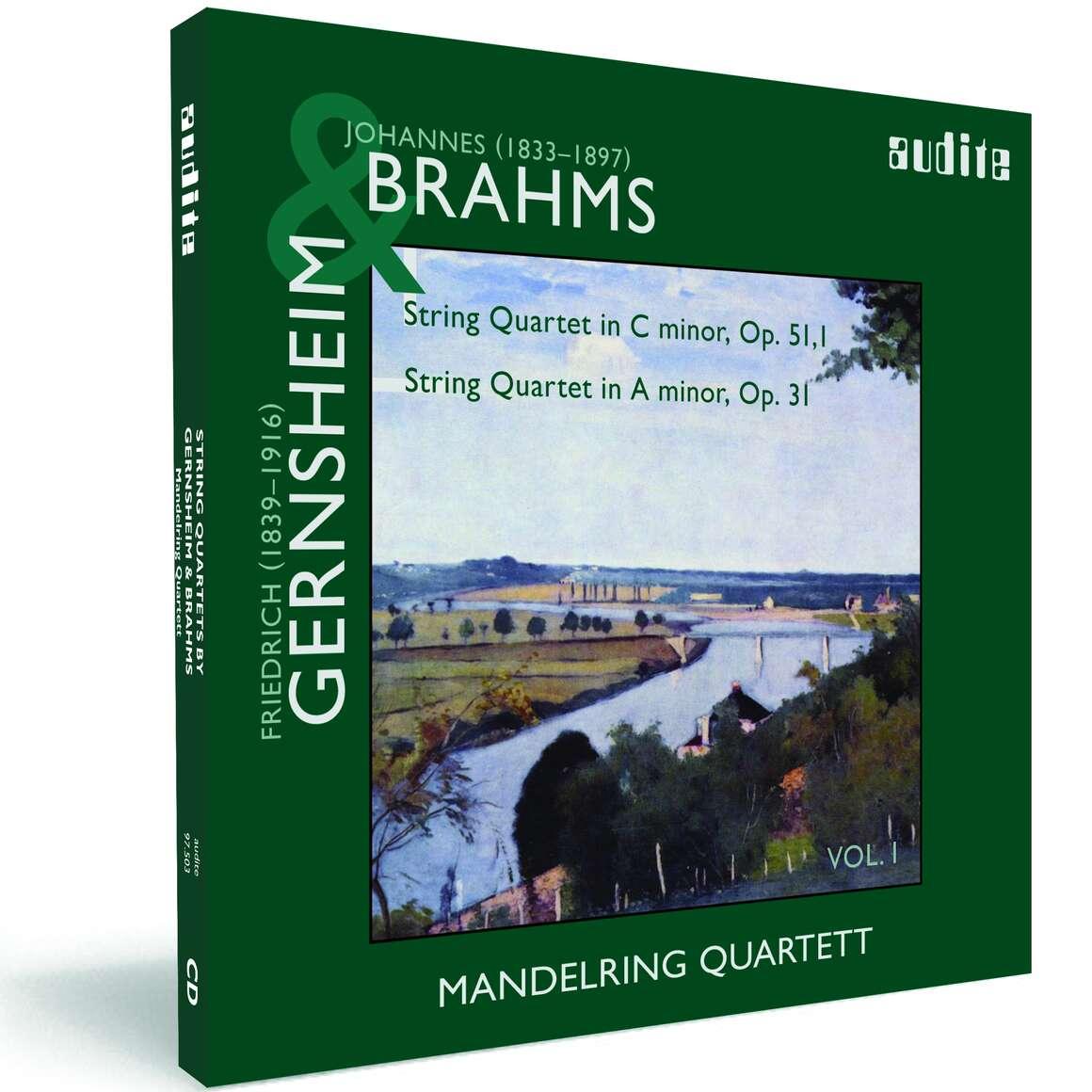 String Quartets by Brahms (Op. 51, No. 1) & Gernsheim (Op. 31)