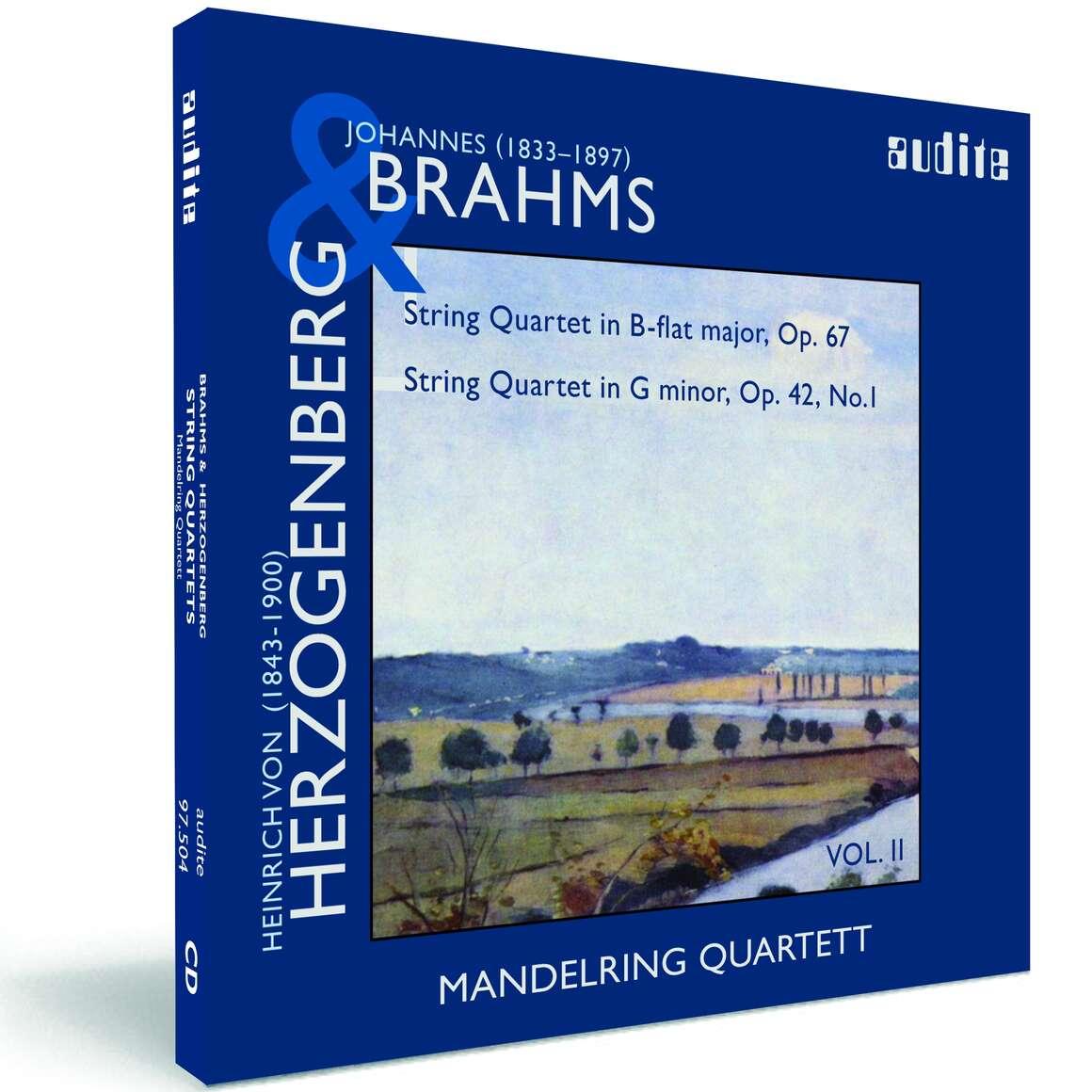 String Quartets by Brahms (Op. 67) & Herzogenberg (Op. 42, No.1)