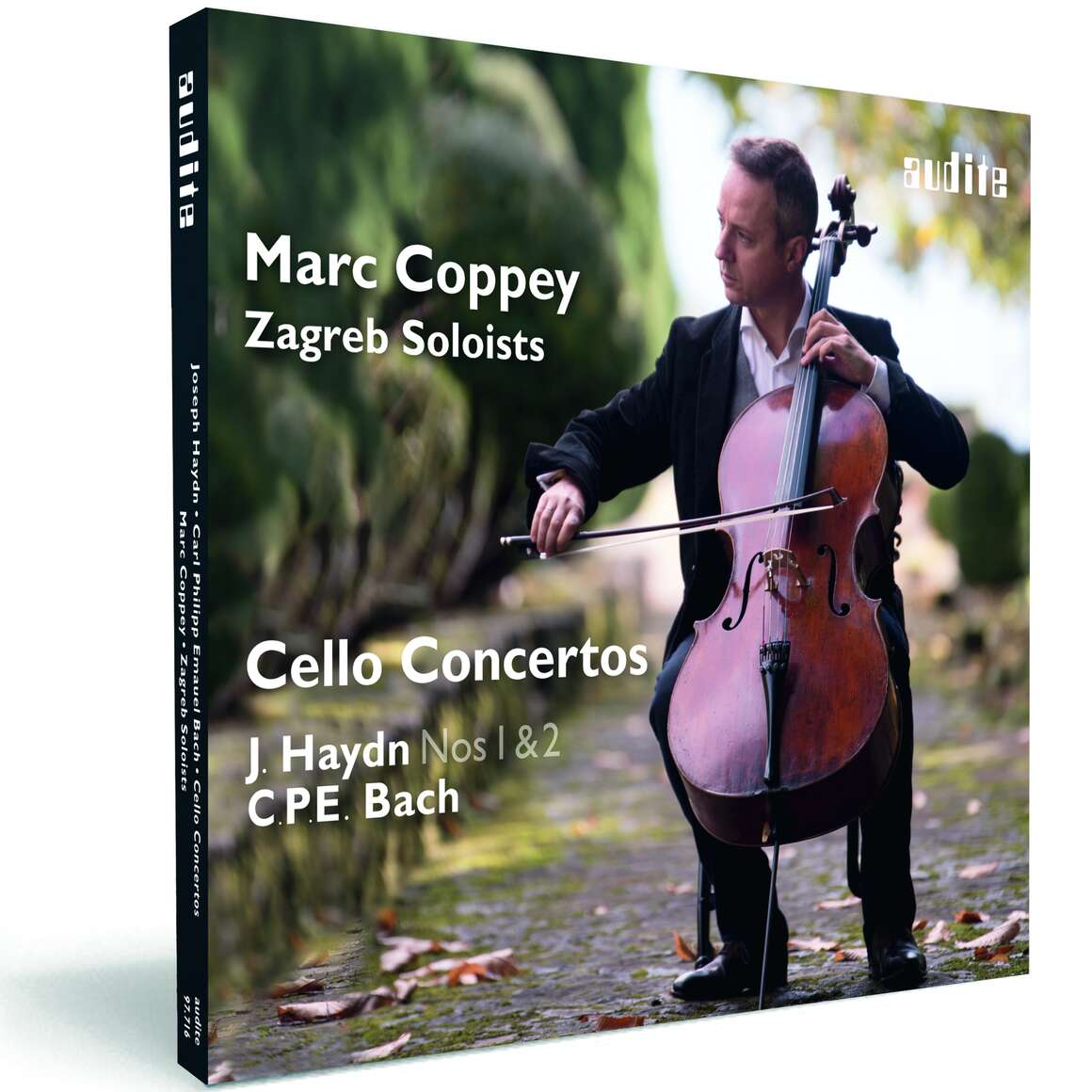Marc Coppey & The Zagreb Soloists: Cello Concertos by J. Haydn and C. P. E. Bach