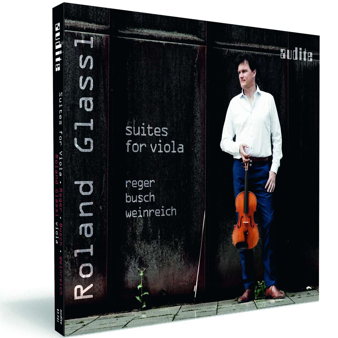 Suites for Viola by Reger, Busch & Weinreich