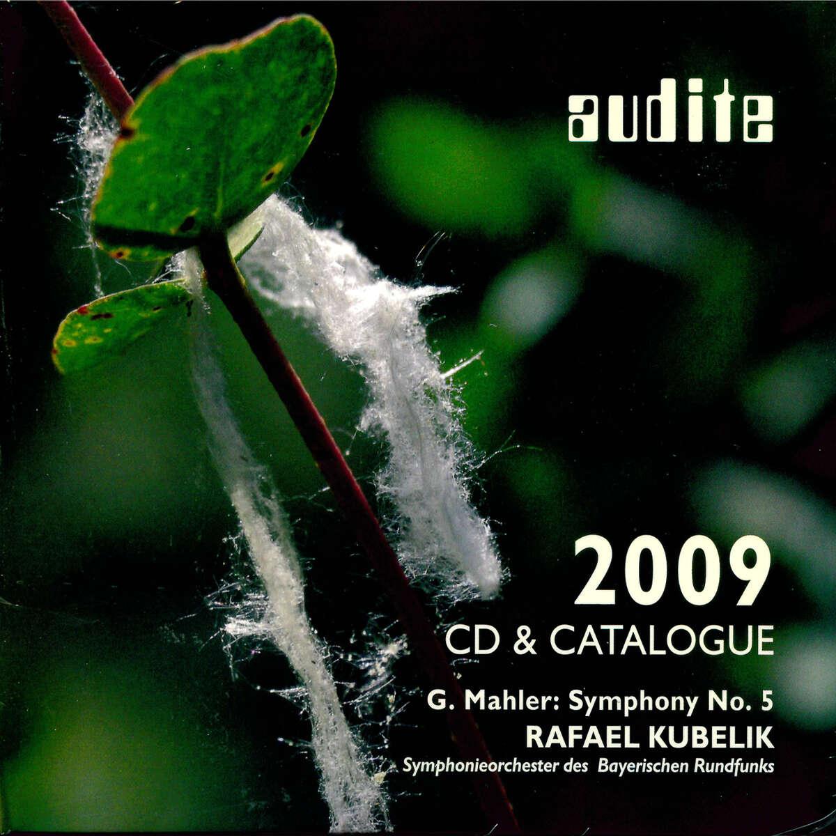 audite catalogue 2009 & CD - G. Mahler: Symphony No. 5