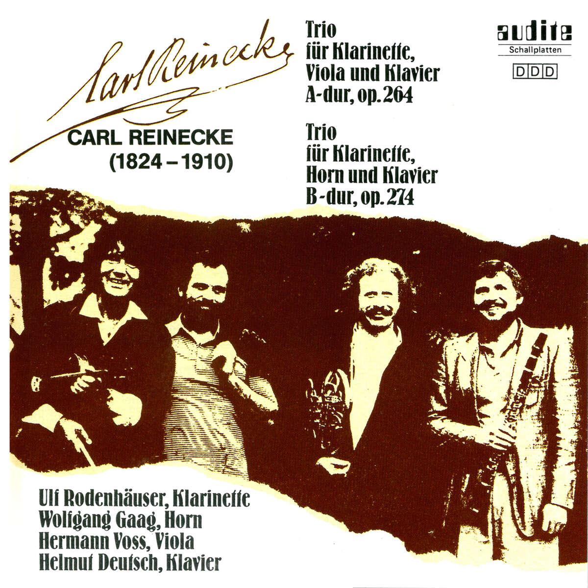 C. Reinecke: Trios