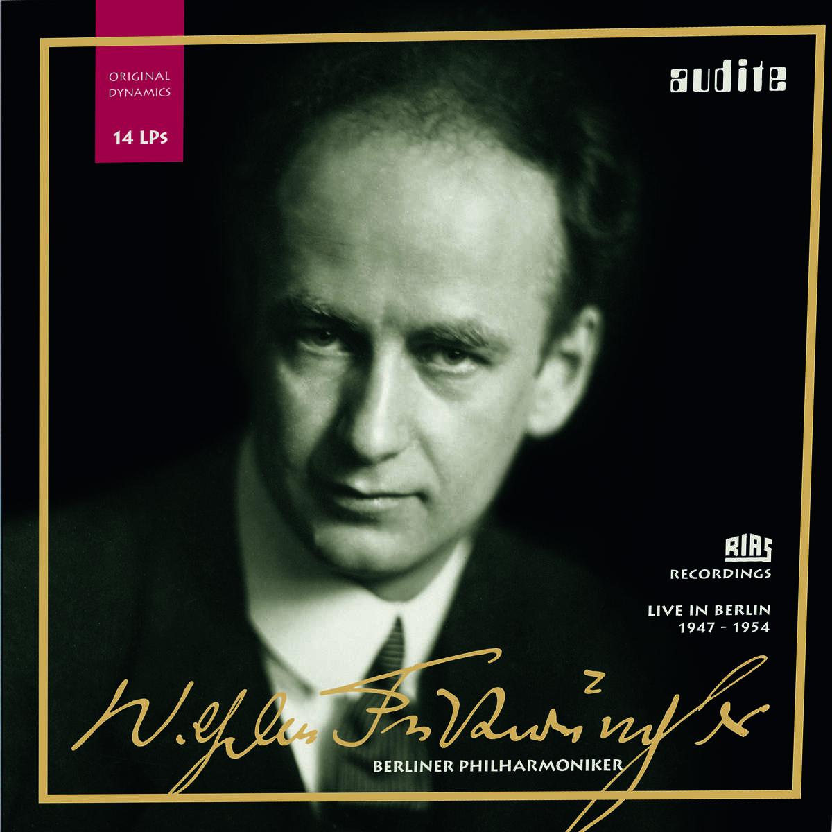 Edition Wilhelm Furtwängler – RIAS recordings with the Berlin Philharmonic on 14 LPs