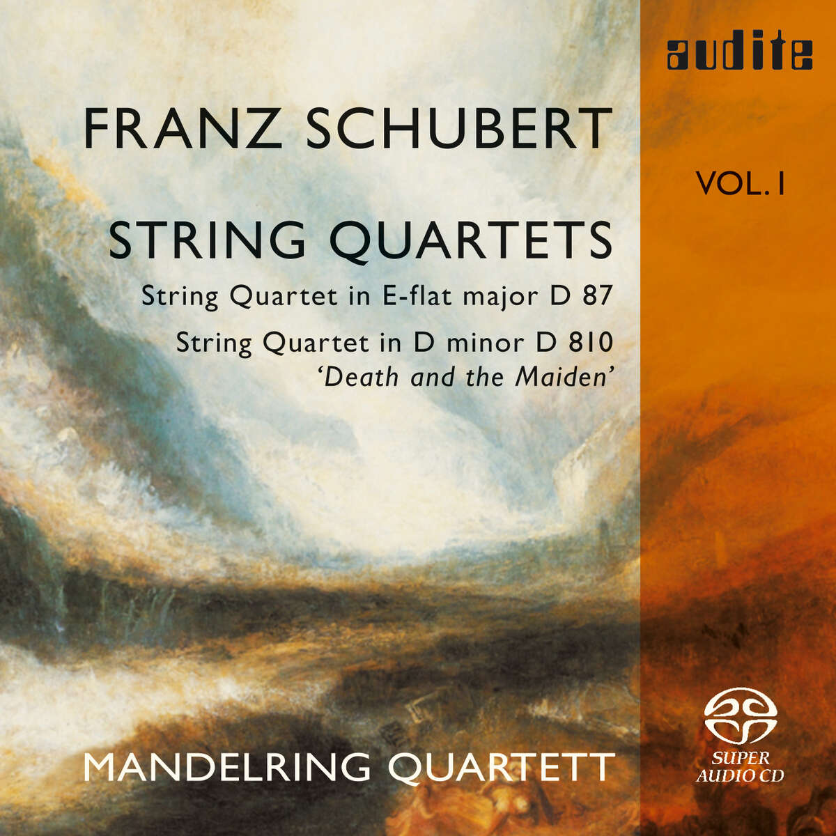 F. Schubert: String Quartets Vol. I