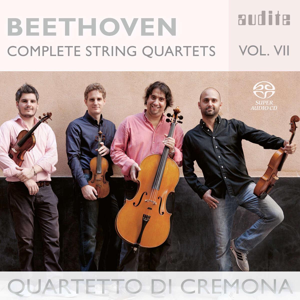 Ludwig van Beethoven: Complete String Quartets - Vol. 7