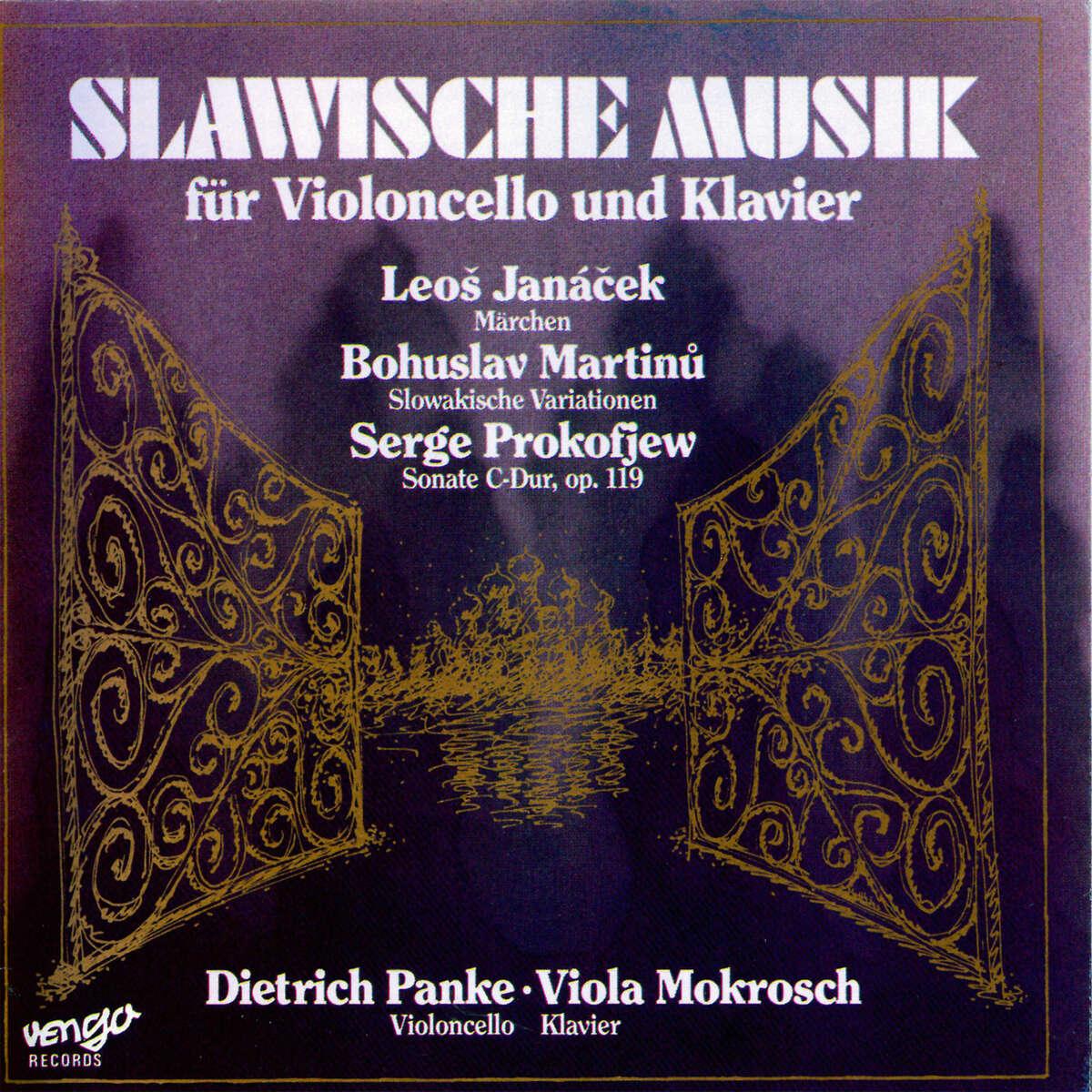 Slawische Musik für Violoncello und Klavier