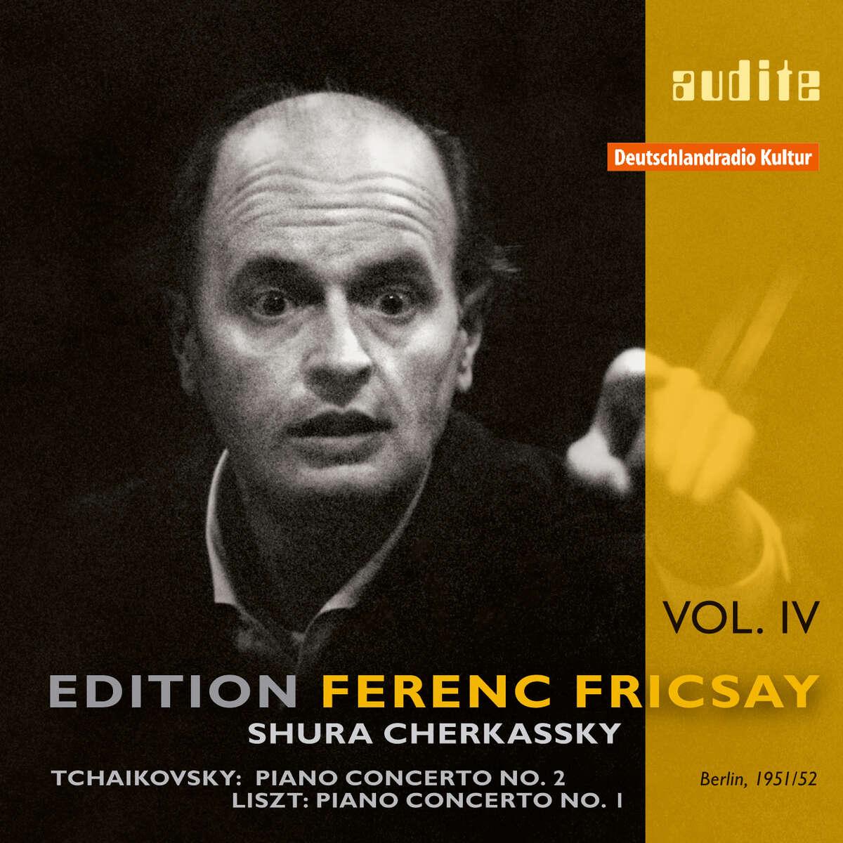 Edition Ferenc Fricsay (IV) – P. I. Tchaikovsky: Piano Concerto No. 2 & F. Liszt: Piano Concerto No. 1